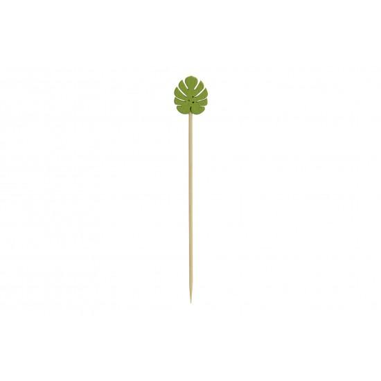 APERITIF SET 20 WOOD 6X4X12 SHEET GREEN