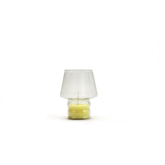 OUTDOOR CANDLE TRANSPARENT COLOR