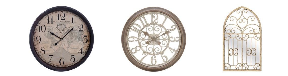 Mirrors & Clocks