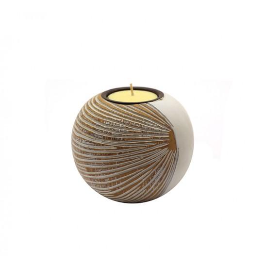 Spherical candlestick