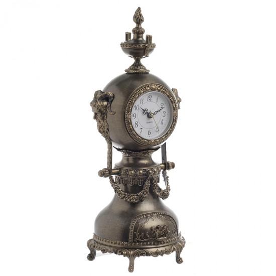 antique clock with music